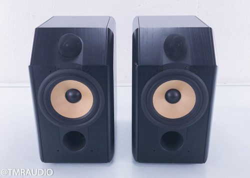 B&W CDM1 Bookshelf Speakers; Black Pair CDM-1