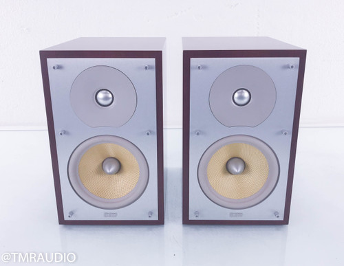B&W CM2 Bookshelf Speakers; Rosenut Pair