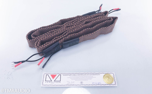 Verastarr Grand Ilusion Series Reference Speaker Cables; 8 ft Pair