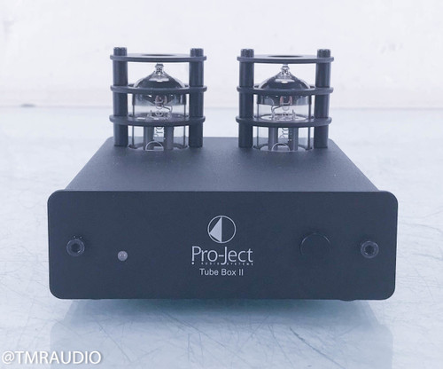 Pro-Ject Tube Box II Tube Phono Preamplifier