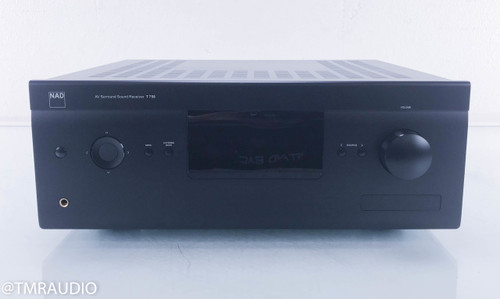 NAD T 758 7.1 Channel Home Theater Receiver (3 broken RCA jacks)