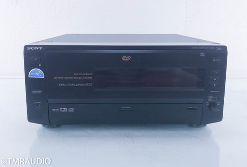 Sony DVP-CX850D 200-Disc CD/DVD Changer / Player (Remote not included)