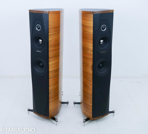 Sonus Faber Olympica II Floorstanding Speakers; Natural Walnut Pair (Sumiko)