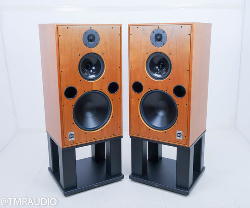 Harbeth 40.1 Speakers / 3-way Monitors w/ Stands; Cherry Pair