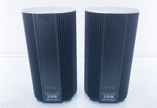 Musical Fidelity Supercharger 550K Mono Power Amplifier; Pair