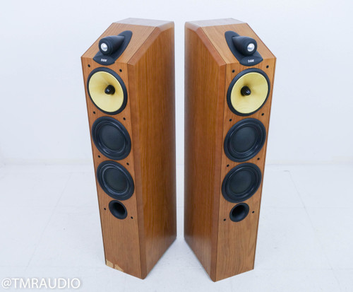B&W CDM-9NT Floorstanding Speakers; Cherrywood Pair; Bowers & Wilkins