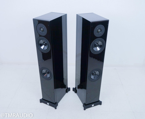 Vienna Mozart Grand Floorstanding Speakers; Piano Black Pair