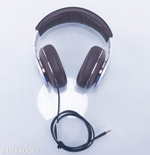 B&W P9 Signature Headphones; Brown Leather; Bowers & Wilkins