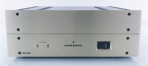 Conrad-Johnson MF-2300 Stereo Power Amplifier; MF-2300A