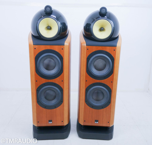 B&W 802D Floorstanding Speakers; Cherrywood Pair; Bowers & Wilkins