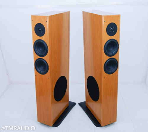 Vienna Strauss Floorstanding Speakers; Beech Pair