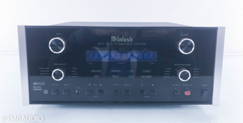 McIntosh MX119 5.1 Channel Home Theater Processor; Preamplifier; MX-119