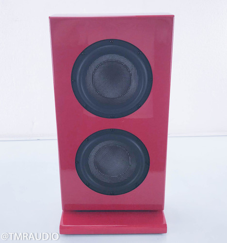 Totem Tribe In-Room 2x8 Subwoofer w/ Amplifier; Fire Red