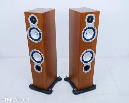 Monitor Audio Gold Signature GS20 Floorstanding Speakers; Cherry Pair