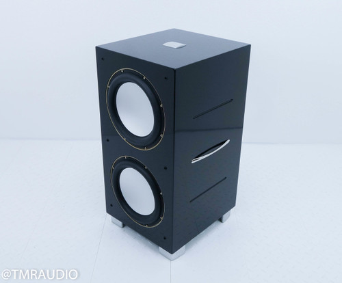 REL 212SE Powered Subwoofer; Piano Black