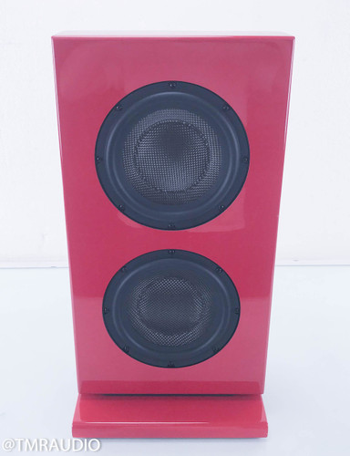 Totem Tribe In-Room Subwoofer w/ Amplifier; Fire Red