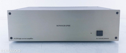Conrad Johnson Sonographe SA250 Stereo Power Amplifier; SA-250