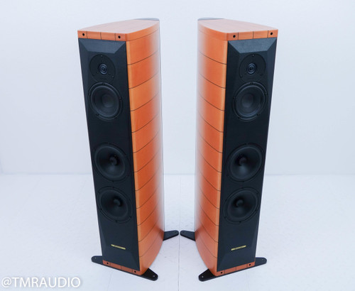 Sonus Faber Cremona M Floorstanding Speakers; Maple Pair; New Grills