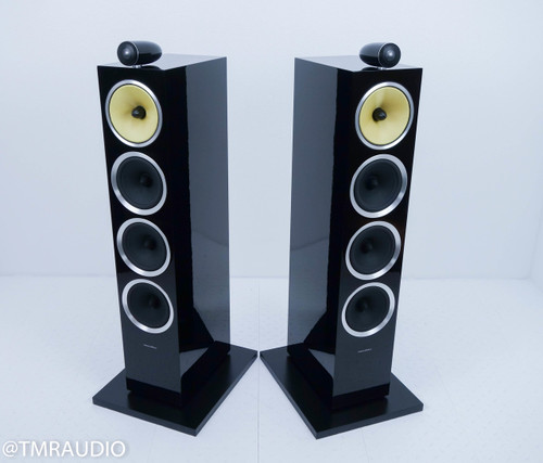 B&W CM10 S2 Floorstanding Speakers; Black Pair