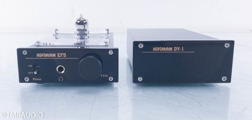 Hifiman EF5 Hybrid Headphone Amplifier; DY-1 Power Supply