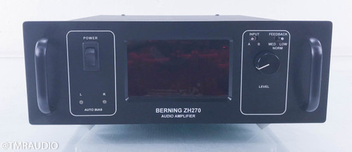 David Berning ZH270 Stereo Tube Power Amplifier; Zero-Hysteresis ZH-270; OTL