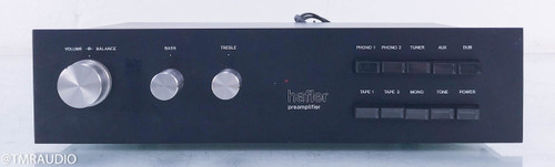 """Hafler DH-101 """"Vintage"""" Stereo Preamplifier; MM / MC Phono"""