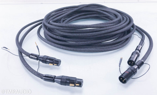 Tara Labs The One XLR Cables; 9m Pair Balanced Interconnects w/ Floating Ground Station