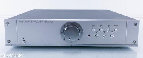 Musical Fidelity A3.2CR Dual Mono Preamplifier; MM / MC