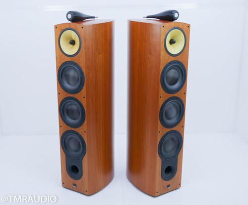 B&W 803D Floorstanding Speakers; Cherrywood Pair