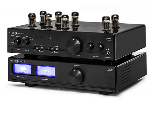 Cary SLP-05 Stereo Tube Preamplifier; Black (New)
