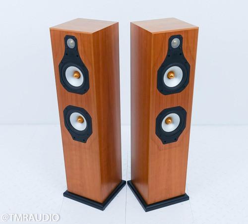 Monitor Audio Silver 5i Floorstanding Speakers; Cherry Pair