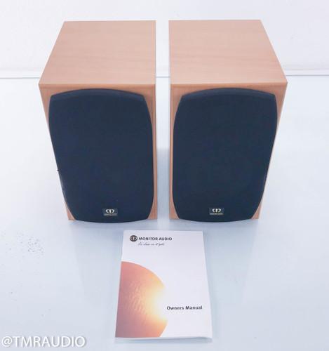 Monitor Audio Silver S1 Bookshelf Speakers; Warm Beech Pair