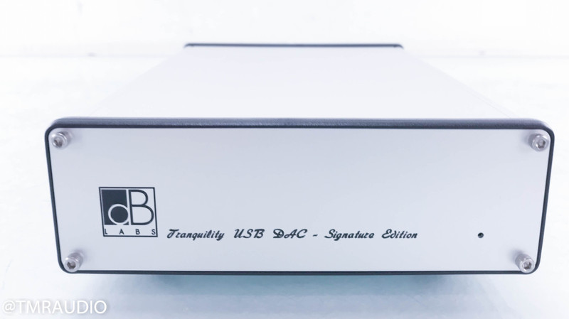 dB Audio Labs Tranquility USB DAC Signature Edition