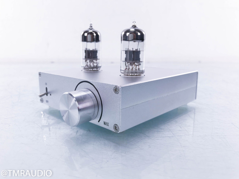 Tube buffers and preamps — No-name Chinese tube buffer, ARC LS16 tube preamplifier, Eddy Current Balancing Act preamplifier and external power supply