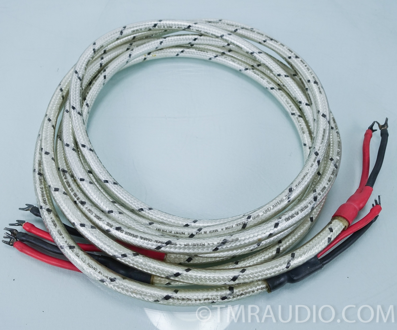 Wireworld Polaris Speaker Cables; 3.5 Meter Pair; Spades - The Music ...