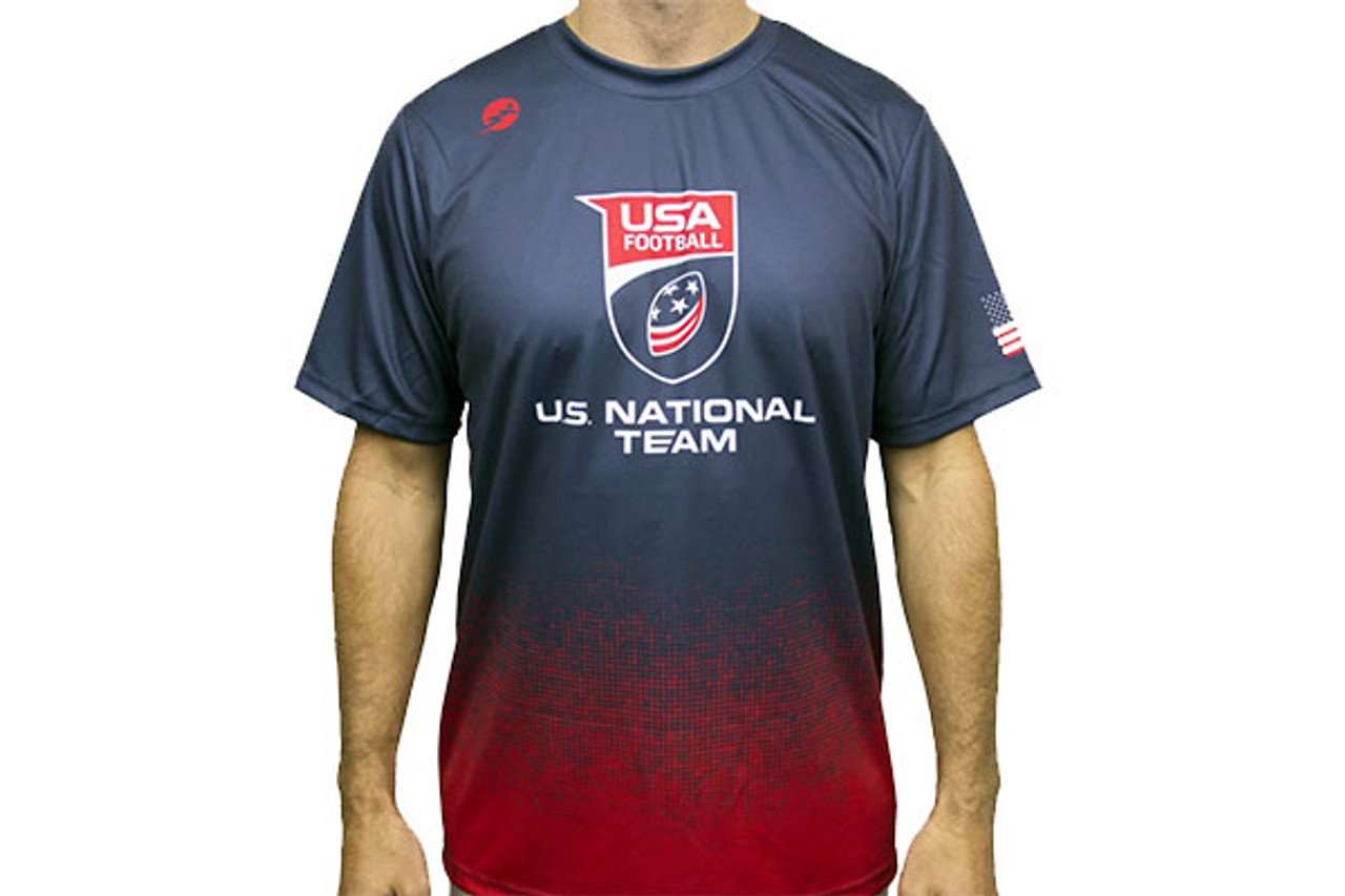 U.S. National Football Team Graphic Short Sleeve Performance Shirt