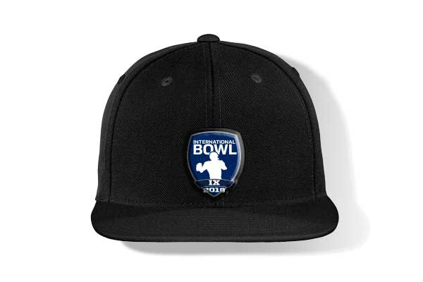 USA Football International Bowl Flat Bill Cap