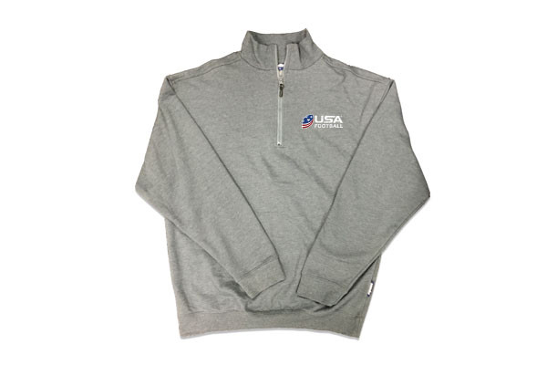 USA Football 1/4 Zip Fleece Pullover Jacket