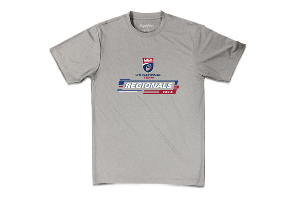 2018 USA Football U.S. National Team Regionals Event T-shirt