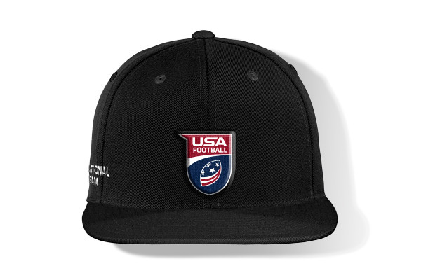 USA Football Flat Bill Cap