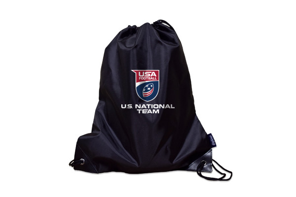 USA Football Team Poly Drawstring Bag