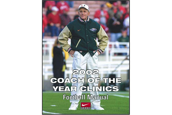 2002 Coach of the Year Clinics Football Manual