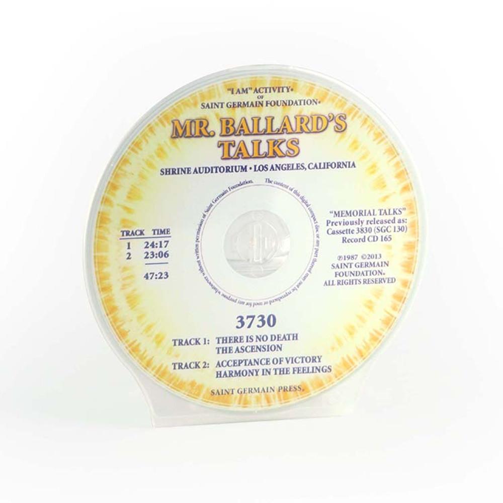 Mr Ballard's Talks - No Death