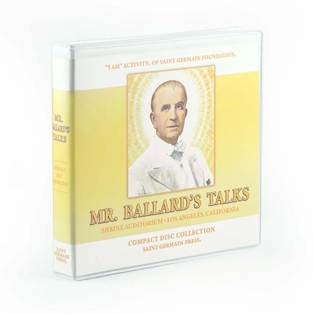 CD Collection Case - for Mr. Ballard's Talk CDs