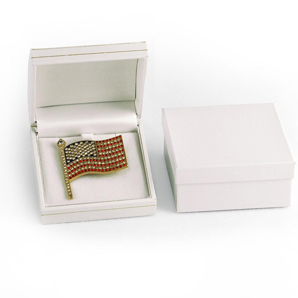 American Flag - Jeweled Pin
