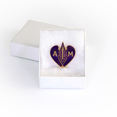 I AM Emblem - Blue Pin-Pendant