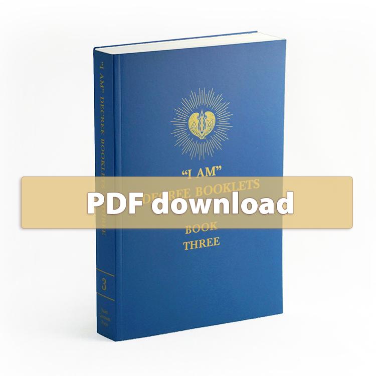 I AM Decrees - Book 3- PDF