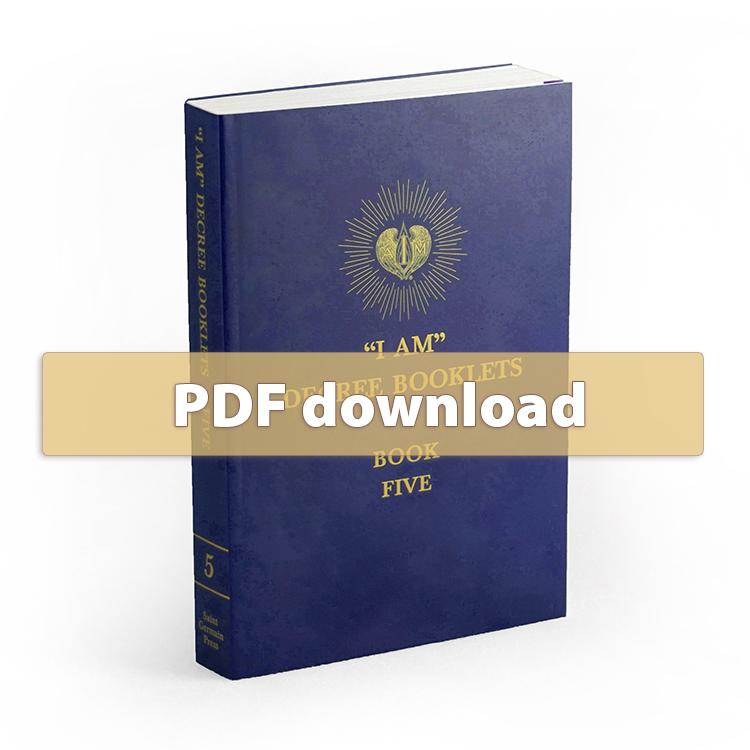 I AM Decrees - Book 5 - PDF