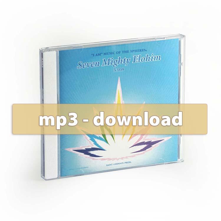 Seven Mighty Elohim - handbells+harps - mp3
