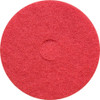 Red Floor Pads Clean and Buff 18 inch standard speed up to 8